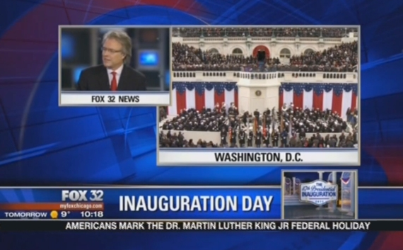 Screen grab Thom on Fox for Inauguration Jan 21 2013